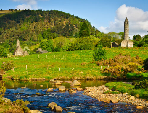 Avui hem estat a Glendalough